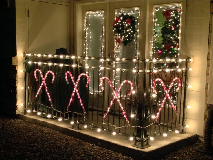 24 Inspiring Christmas Balcony Decor Ideas You'll Love ...