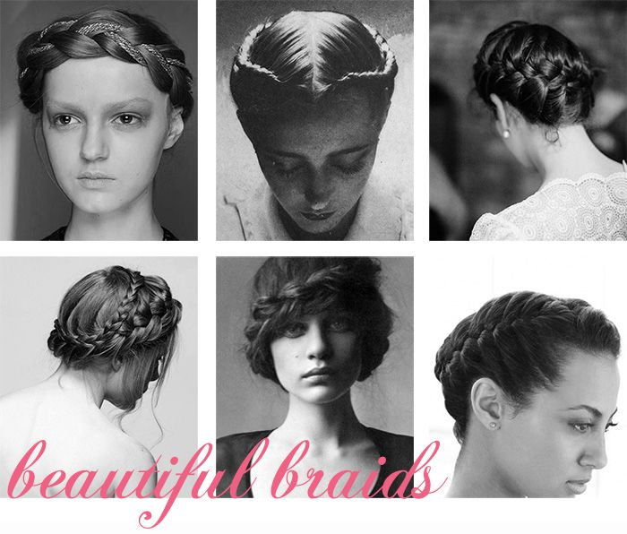 Braided Hairstyles, from Snippet & Ink