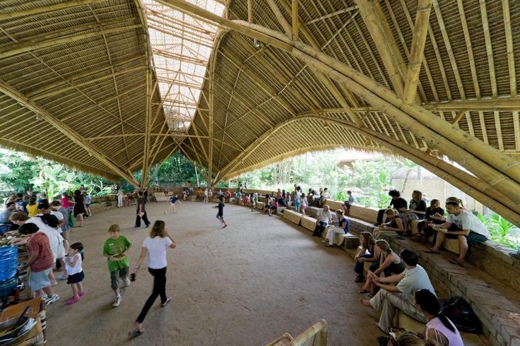Deep within the jungles of Bali, a school made entirely of bamboo seeks to train the next generations of leaders in sustainability.