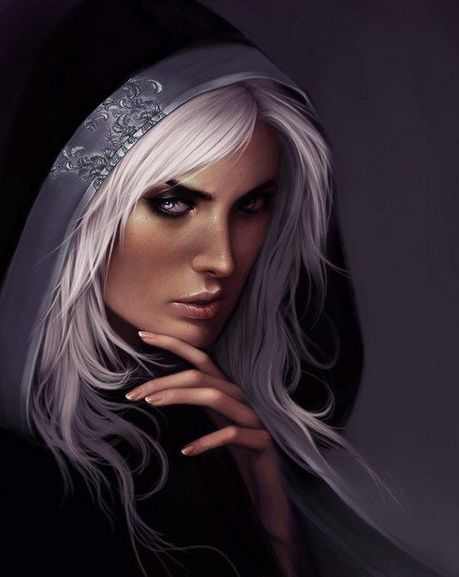 fnatasy art glass thrones   Varich Sidhe - silver hair [ female, wizard, sorcerer, ...   Fantasy