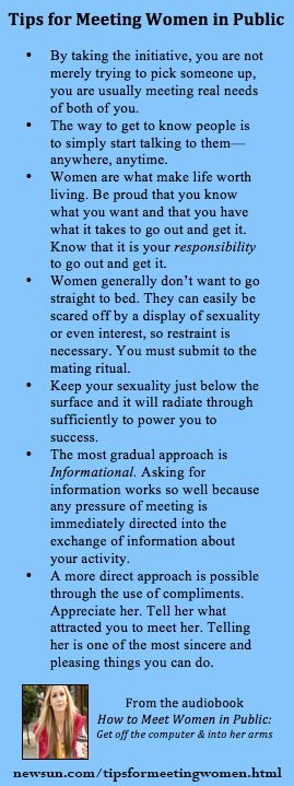 How to Meet Women in Public