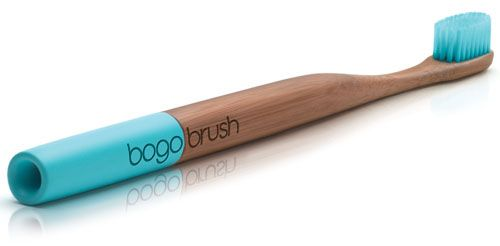 Completely biodegradable & gorgeous to boot.  The company will also give one to someone in need.  Best toothbrush ever?