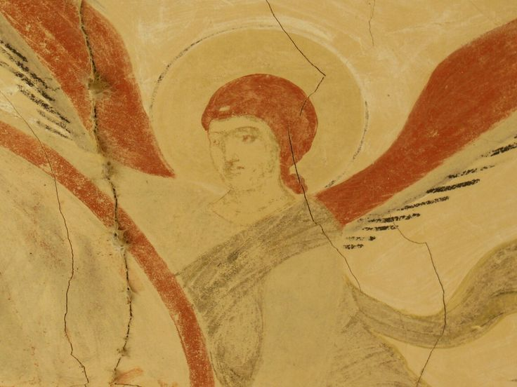 Archangel from david gareji #archangel #davidgareji #monastery #lavra #cave #udabno #kakheti #georgia
