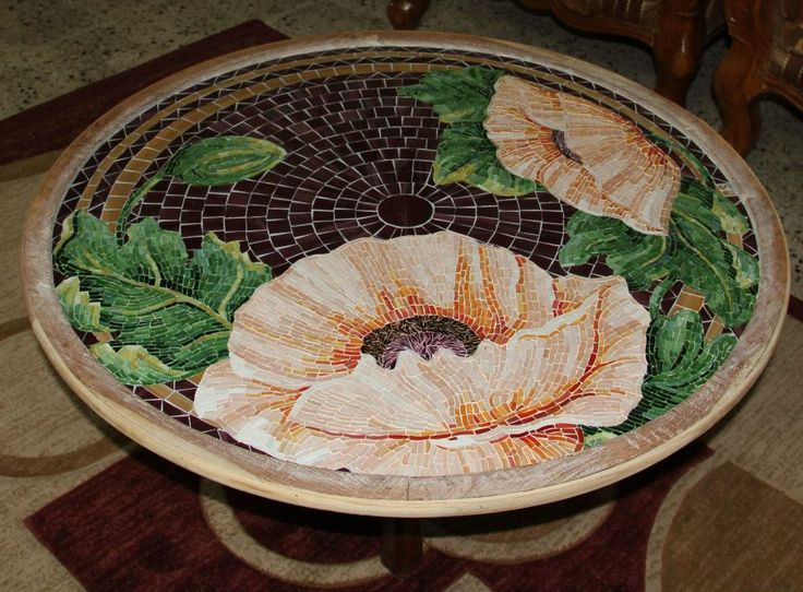 Stained Glass mosaic table top