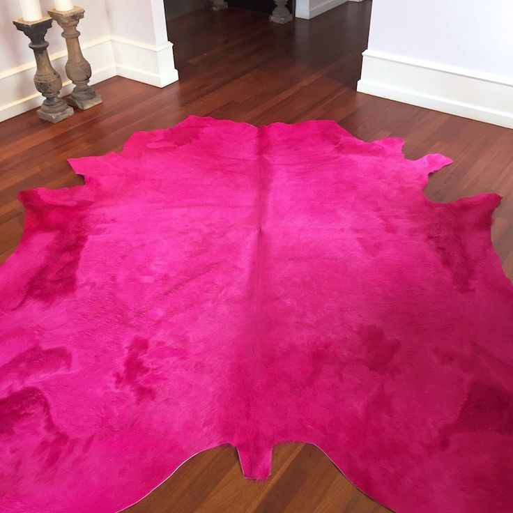 Teppich pink  20 besten Kuhfell Teppich GutRaum8 Bilder auf Pinterest | Kuhfell ...