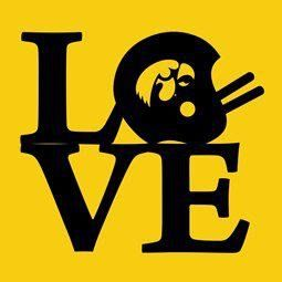 I love college football, especially The Iowa Hawkeyes!!