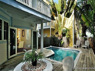 """Key West House Rental: """"a Key Escape""""- Luxury Vacation Rental W/ Private Pool- 1/2 Block To Duval St 