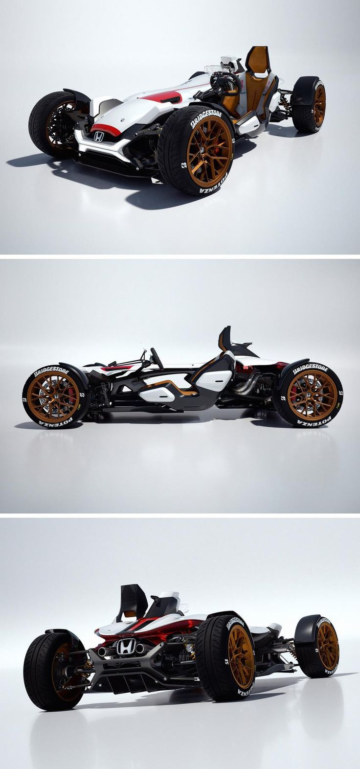 The Honda Project 2&4 combines the stability of a car with the stripped-down simplicity of a two-wheeler