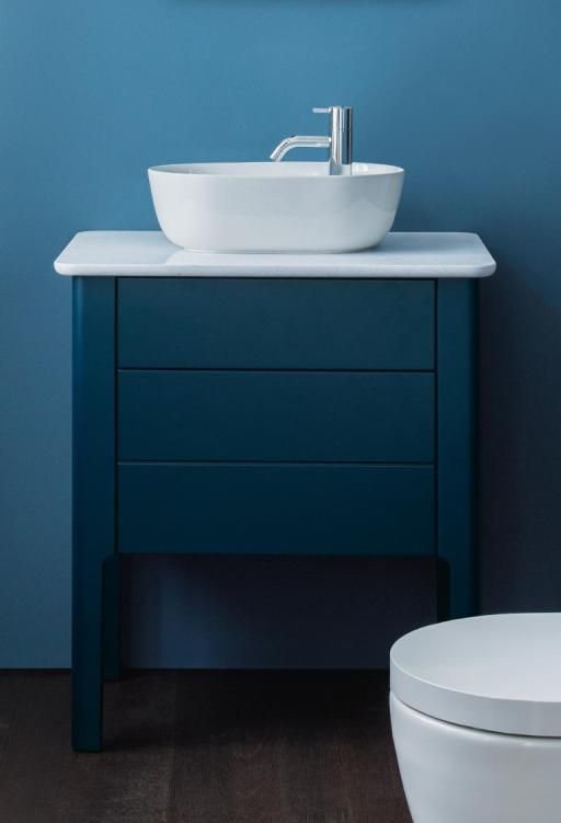 Duravit & Nordic by nature: the Luv handrinse basin.