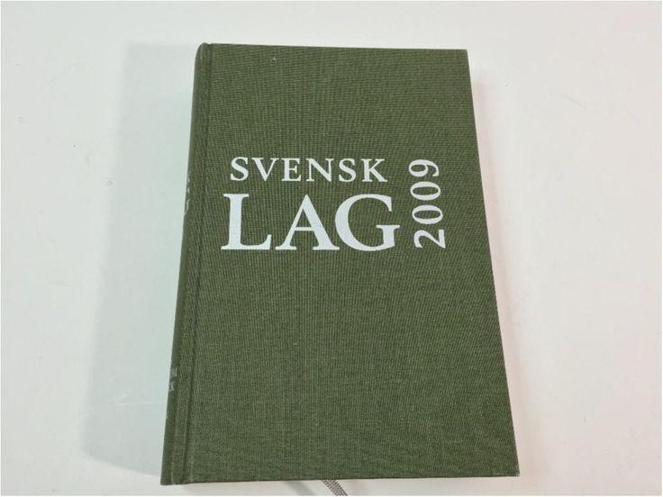 Annons på Tradera: Lagboken, Svensk Lag 2009