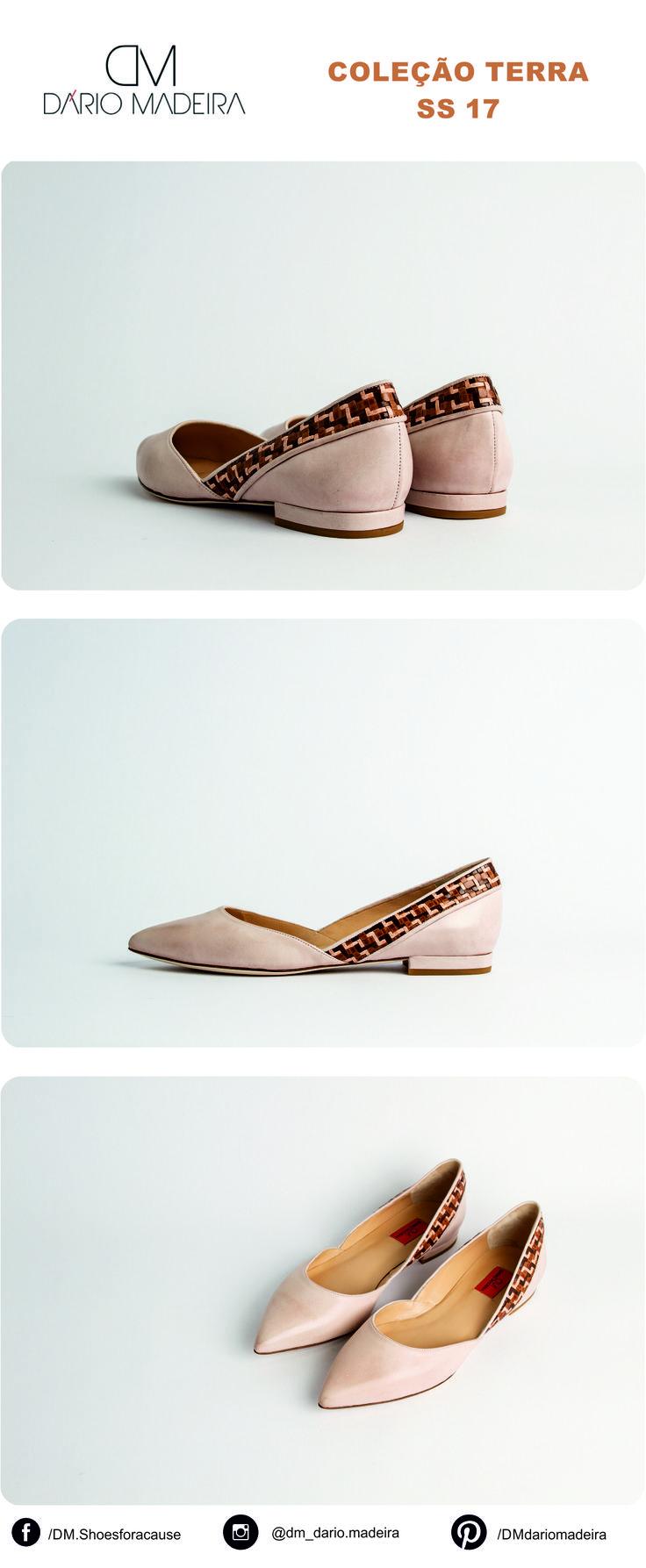 Sapato Raso - Linha Terra | SS17 | DM - Dário Madeira  Sapato de Senhora | Shoes for a cause | Calçado Português | Portuguese Shoes | Made In Portugal