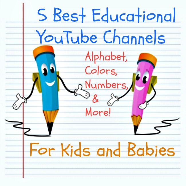 5 Best Educational YouTube Channels for Kids and Babies