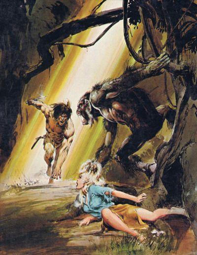 Neal Adams Tarzan Book Cover Art