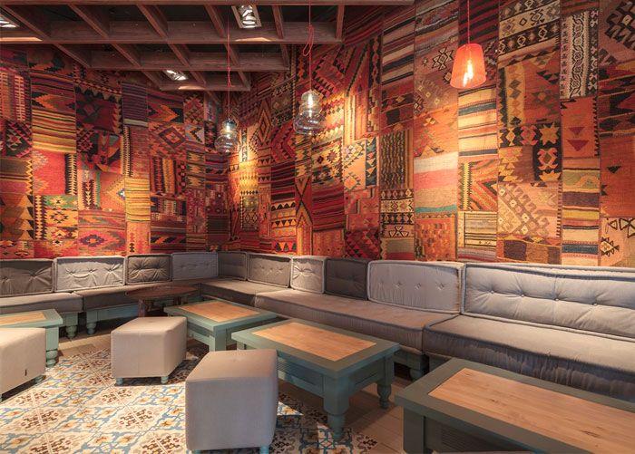 Exotic Oriental Restaurant Decor - InteriorZine