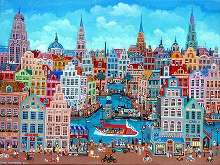 "Netherlands ~ Joop Plasmeyer ~ ""Anne Frank"" City Sightseen"