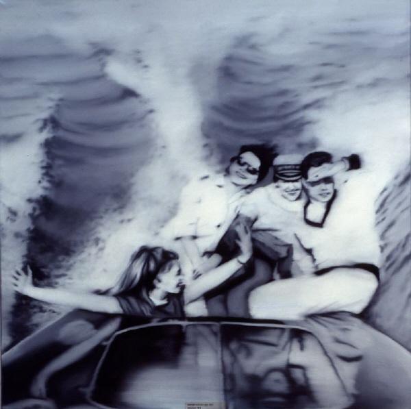Confrontation 1 - Gerhard Richter - Motorboot, 1965
