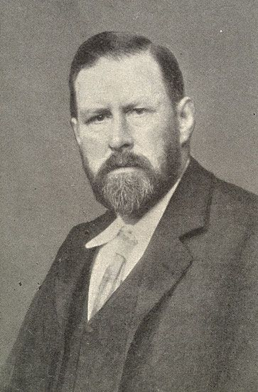 Bram Stoker:  (8 November 1847 – 20 April 1912)   Was an Irish novelist and short story writer, best known today for his 1897 Gothic novel Dracula.