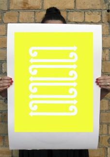 Untitled Koru Series - Yellow