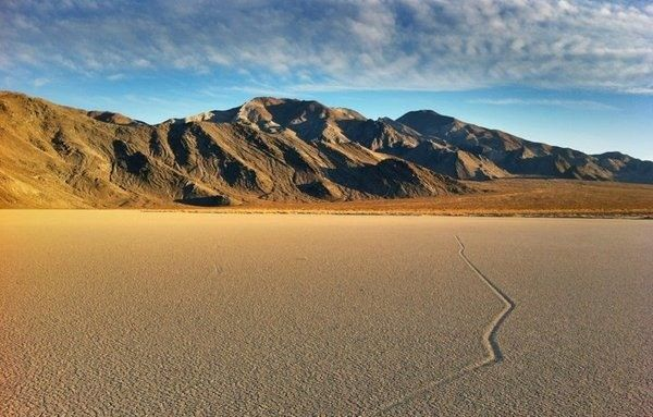 Inyo, CA THE SAILING STONES OF RACETRACK PLAYA