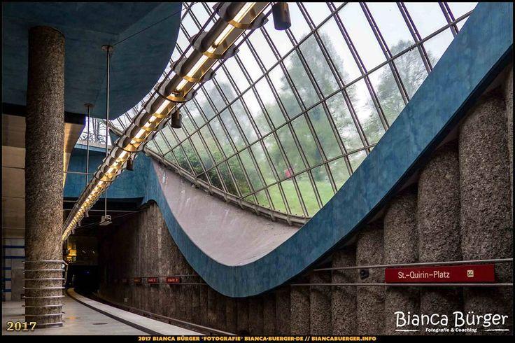 """U-Bahn-Station """"St.-Quirin-Platz"""" - München-Spezial #München #Munich #Bayern #Bavaria #Deutschland #Germany #subway #underground #station #igersgermany #IG_Deutschland #underground_enthusiasts #biancabuergerphotography #metro #shootcamp #pickmotion #architecture #Architektur"""