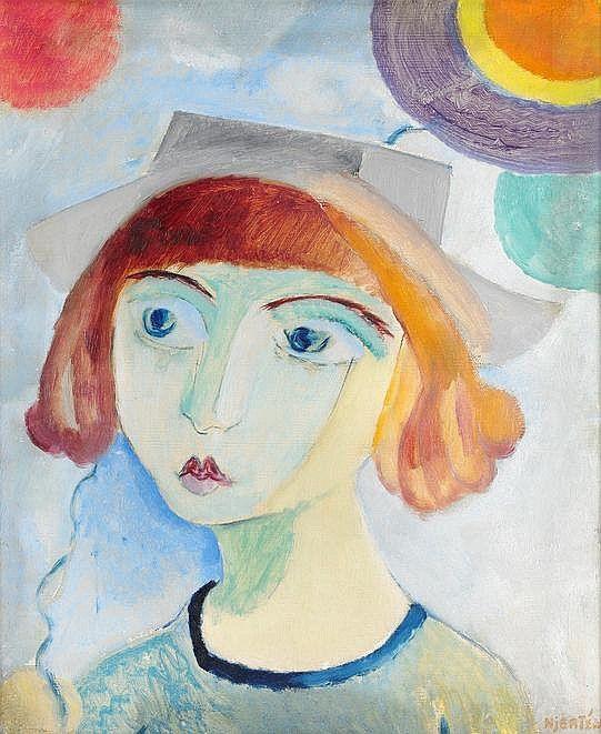 Sigrid Hjerten (1885-1948), Iván med ballonger