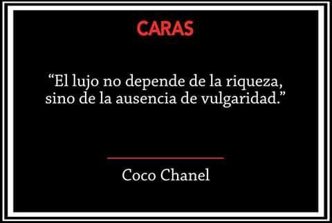 Coco Chanel.