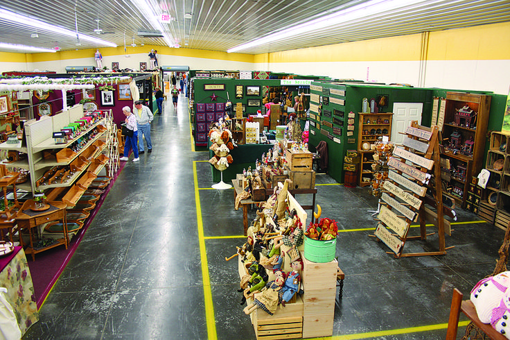 You can shop all day inside the Holmes County Flea Market - a Berlin Main Street…