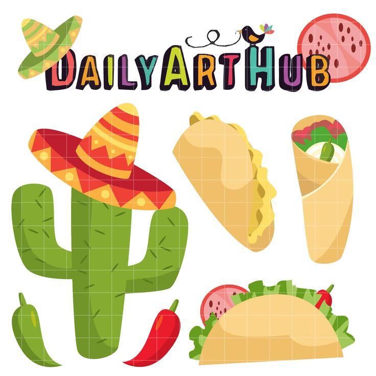 Download Delicious Taco Clip Art Set | Clip art, Art hub, Art