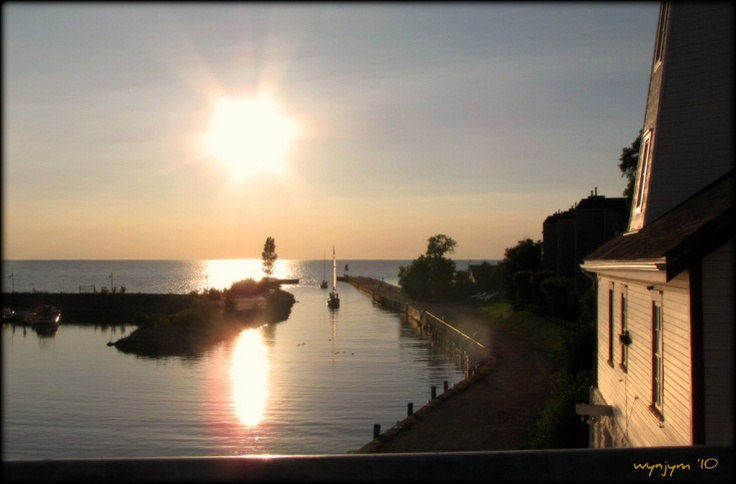 Late Arrivals - Kincardine harbour, Lake Huron, Ontario