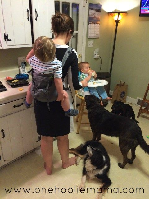 With 2 under 2, this mama's lifesaver is babywearing.