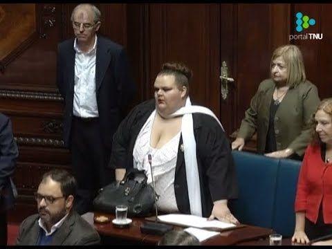 (4) Michelle Suárez se convierte en la primera persona transexual del senado de Uruguay - Noticias gays en Universo Gay