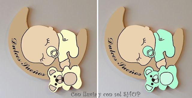 Decoración Infantil Personalizada Y Letras Decorativas