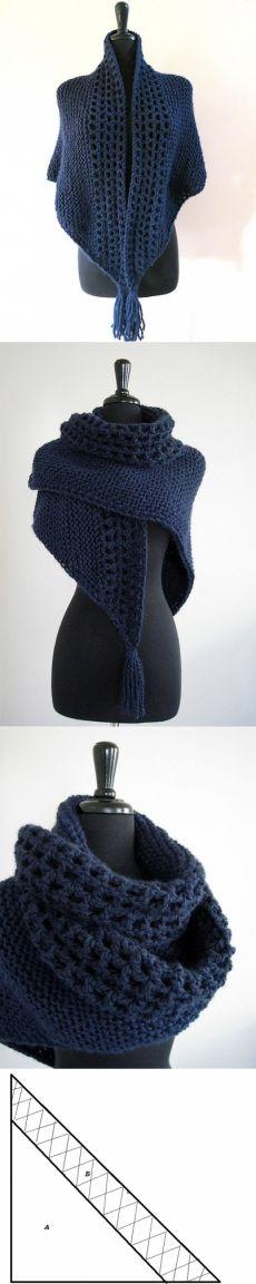 Замечательный шарф-шаль!