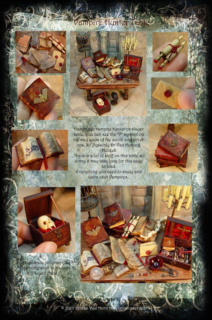 EV Miniatures - Vampire Hunter Table
