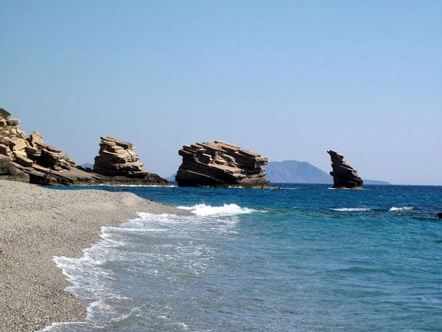 Triopetra beach, south coast, Rethymno, Crete, Greece