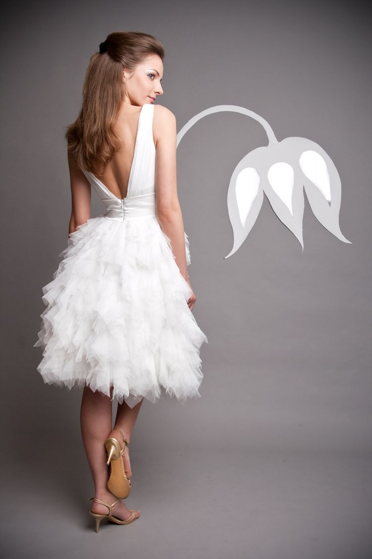 Rövid esküvői ruha cca: 500$