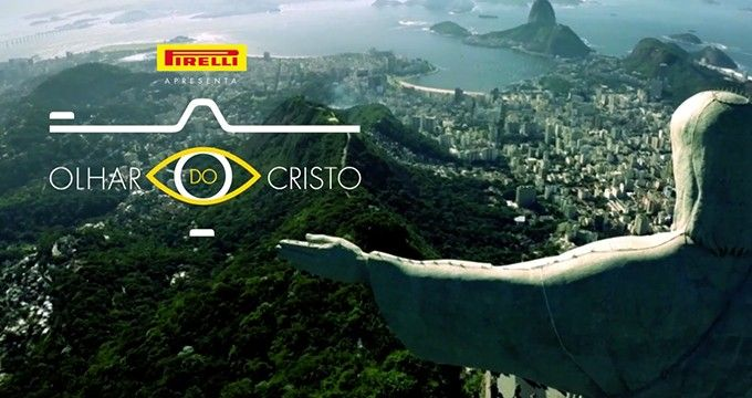 Pirelli: Through the eyes of Christ