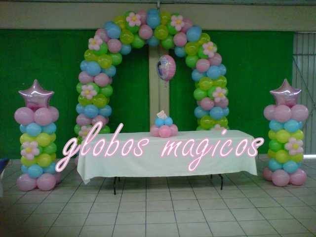 arco bonita combinación creación de globos magicos | Arcos ...