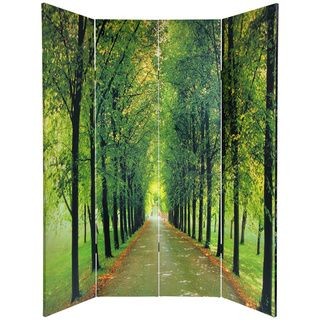 @Overstock - Canvas Double-sided 'Path of Life' Room Divider (China) - Create a defined room separation with this stunning room divider. It can be used to separate a large room into smaller areas or as an eye-catching piece of art. When folded just right, the divider replicates a walking area down a tree-lined path.  http://www.overstock.com/Worldstock-Fair-Trade/Canvas-Double-sided-Path-of-Life-Room-Divider-China/4750234/product.html?CID=214117 Add to cart to see special price