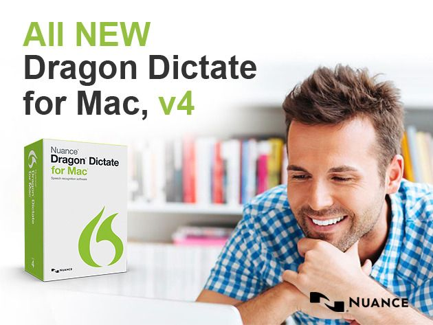 Dragon Dictate for Mac 4: World's #1 Speech Recognition Software   $99.99 50% off Sale ends in 7 days