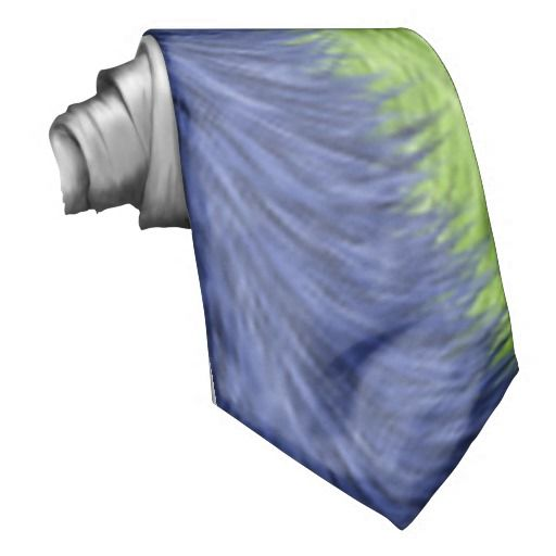 Colorful trendy art tie