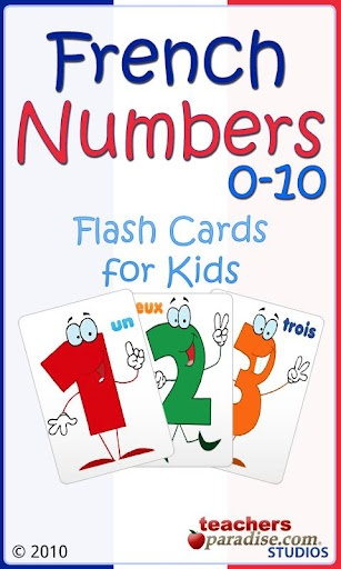 Mme. Rego's French Class: French App of the Week - French Numbers 0 to 10 (For Kids)