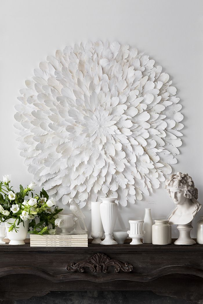 Mondocherry layered hand cut paper art. What a beautiful way to decorate your walls. We have a crush on this artwork!