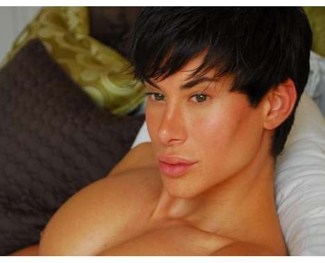 Real-Life Male Barbies #KenDoll #Justin Jedlica #Cosmetic http://www.trendhunter.com