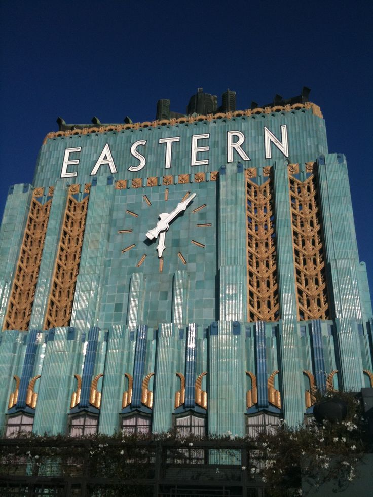One of LA's Historical Art Deco masterpieces... <<--- used to live around the corner...love it!