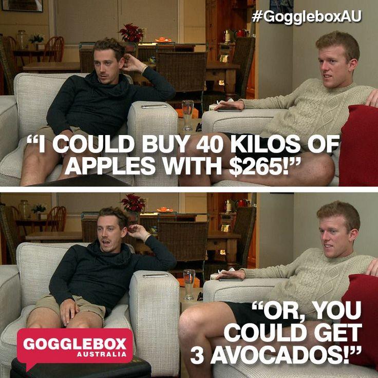 Gogglebox Australia - Symon and Adam