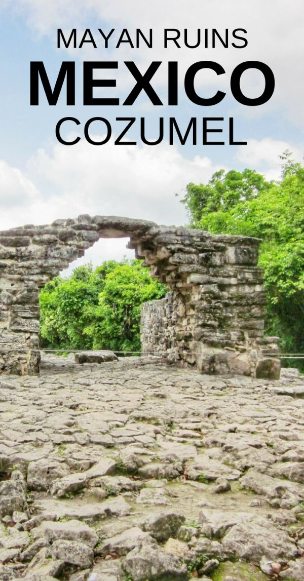 Tour of the Cozumel ruins. When on a Mexico vacation in Cancun, people visit the ancient Mayan ruins of Tulum city or Chichen Itza to explore Mexican culture. Doing that as a Cozumel excursion during a Caribbean cruise will take up most of the day. San Gervasio ruins tour on Cozumel island is an alternative to a mainland Mexico excursion, and makes time in Cozumel cruise port for other things to do in Cozumel like the beach, shopping, and maybe snorkeling if you plan your travel well!