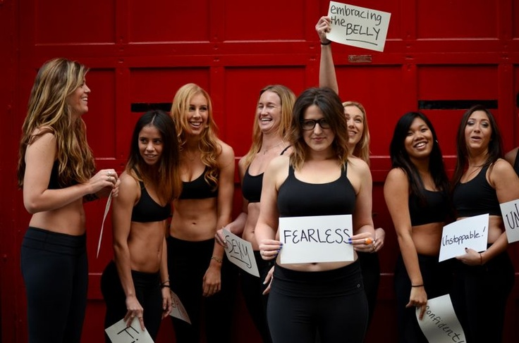 This is what it's all about my friends. Real women rockin' positive body images. Check out the S.E.A.K. Foundation in this link.