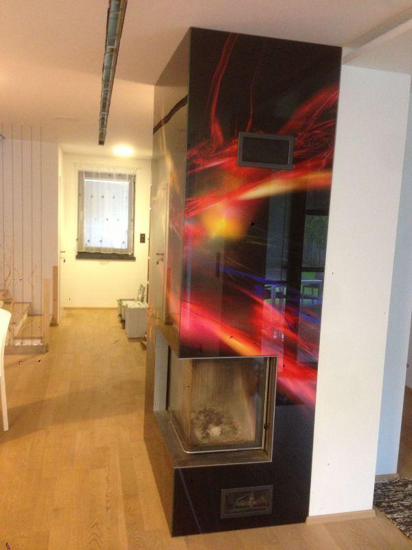 Kreatív üveghátfal, ajtófront a lakás minden pontján - Konyha-Mánia