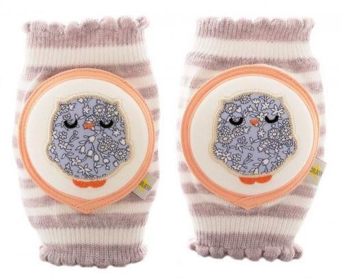 クローリングス(Crawlings)のニーパッド フクロウ● Size ● ONE SIZE (6か月ぐらい~3歳ぐらいまで) 素材:Premium Cotton80% Rayon15% Spandex5% 販売価格:¥2940